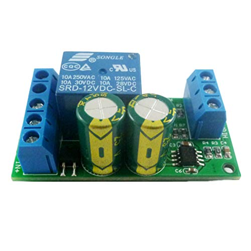 TOOGOO 12 V Modulo Controlador Automatico De Nivel De Agua Interruptor De Sensor De Liquido Bomba De Motor Valvula De Solenoide Tablero De Rele De Control Automatico