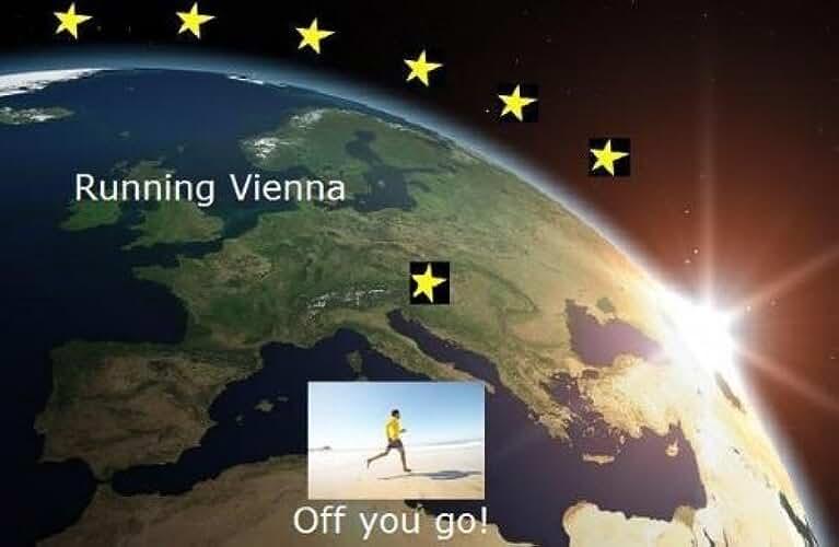Running Vienna (Running the EU Book 25) (English Edition)