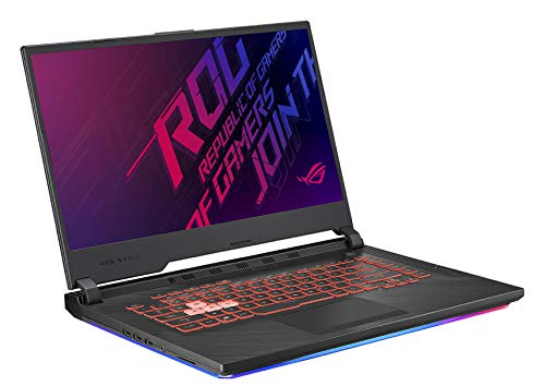 ASUS ROG G531GT-BI7N6 15.6' FHD Gaming Laptop Computer, Intel Hexa-Core i7-9750H Up to 4.5GHz, 8GB DDR4, 512GB SSD, NVIDIA GeForce GTX 1650, 802.11ac WiFi, HDMI, USB 3.0, Windows 10