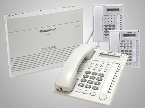 store Panasonic KX-TA824 3 Phones White Los Angeles Mall KX-T7730