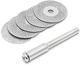 NLLeZ 5 unids Accesorios Dremel Accesorios Diamante Rueda de molienda Sierra Corte Circular Disco Dremel Herramienta Rotary Discos Diamante (tamaño : 30mm)