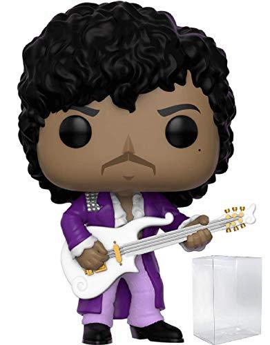 Funko Rocks: Prince - Purple Rain Pop! Vinyl Figure (Includes Compatible Pop Box Protector Case)