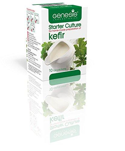 Levadura Genesis (Starter culture) para la preparación casera del Kéfir probiótico - hasta 50 litros.