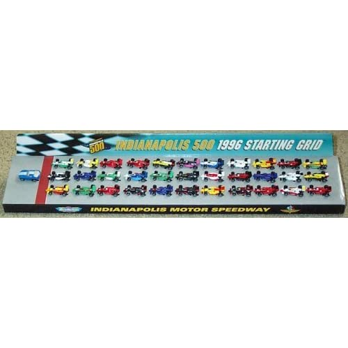 Indianapolis 500 Starting Grid 1996 Micro Machines Set