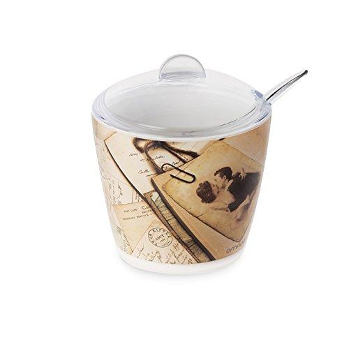 Omada Design Azucarero o azucarero, 25 cl, en plástico irrompible y lavable...