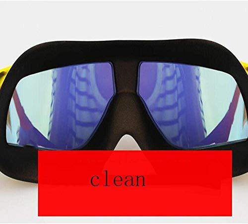 Gafas de natación adultos nadar contra la niebla ajustable gafas de visión...
