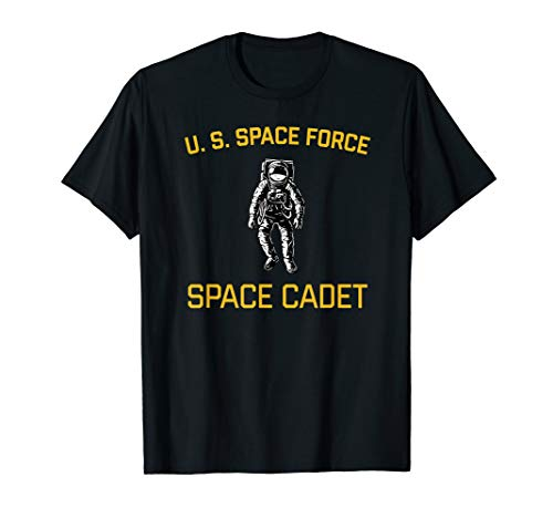 US Space Force Cadet | Halloween Sci-Fi Military Astronaut T-Shirt