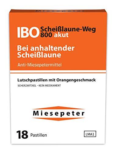 Miesepeter - IBO Scheiß-Laune-Weg Lutschdragées (Orange, 5 Pack - 90 Dragées)