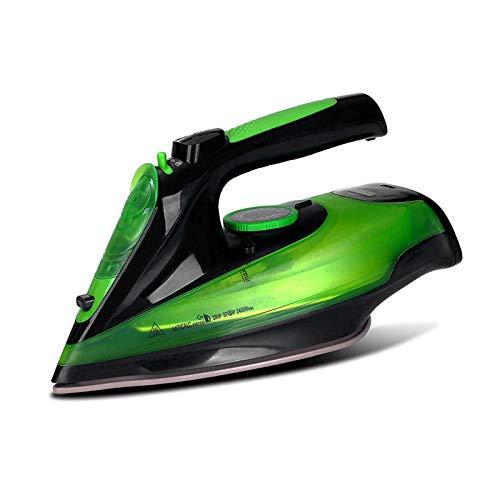 MYBOON Plancha de Vapor eléctrica de Mano portátil para el hogar con Suela Vaporizador inalámbrico