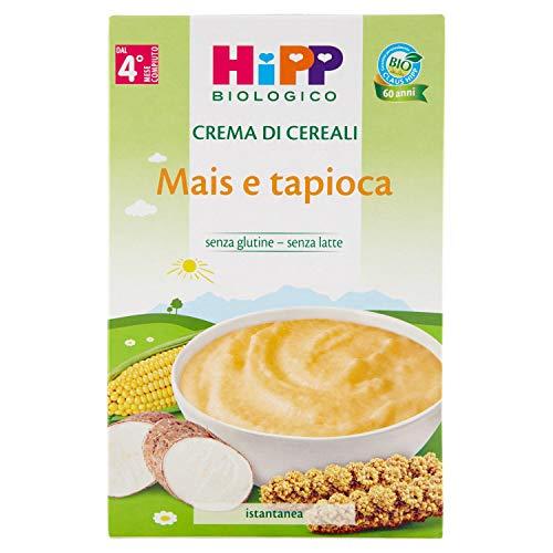 Hipp Biologico Crema Mais e Tapioca, 200g