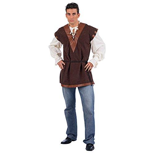Moyen Âge - Chemisier & Tabard Médiévaux - Costume Homme - XL