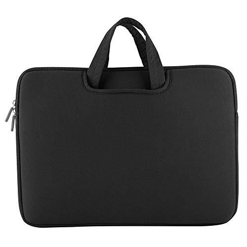 EBTOOLS1 Laptop Tasche,Handtasche,11/14/15.6 Zoll Laptop Hülle mit Schaumstoff/internem Speicher/großer Kapazität/gutesm Tuch/richtiger Dicke,Unterstützung für iPad/Laptop/Tablet(Schwarz 14Zoll)