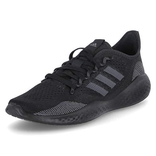 adidas FLUIDFLOW 2.0, Zapatillas de Running Hombre, NEGBÁS/GRISEI/NEGBÁS, 45 1/3 EU