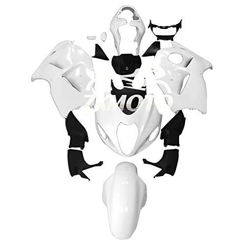 ZXMOTO Unpainted Motorcycle Fairings Kit for Suzuki Hayabusa GSXR 1300 1997 1998 1999 2000 2001 2002 2003 2004 2005 2006 2007 Injection Mold ABS Plastic Bodywork Fairings