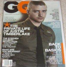 GQ Magazine August 2006 Justin Timberlake