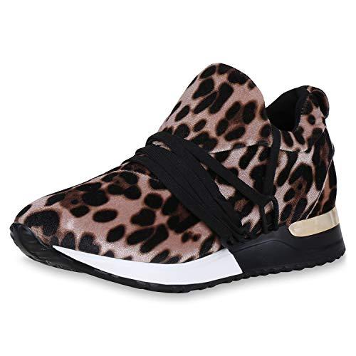 SCARPE VITA Dames Sportschoenen Schitteren Loopschoenen Zool Turnschoenen Fitness Sneaker Vrijetijd Schoenen Veters Sportschoenen