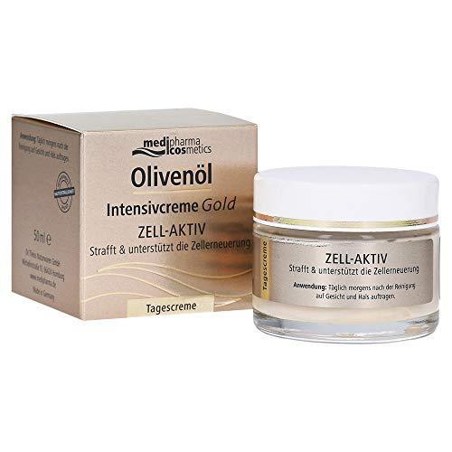 Medipharma Cosmetics, Unbekannt Olivenöl Intensivcreme Gold Zell Aktiv Tagescreme, 1 stück
