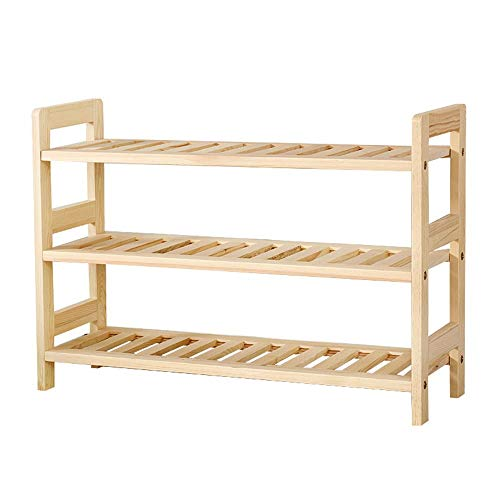 KCSds Schoenenrek, schoen opbergkast Shoe Stand bergkast Dressoir Organizer Multi-layer Simple Thuis schoen, opslag Rack Assembly, Dust-proof Solid Wood Shoes Shelf