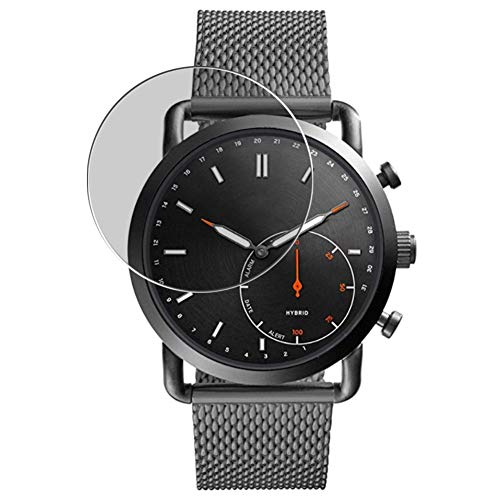 Puccy Privacy Screen Protector Film, compatible with Fossil Q Commuter Hybrid FTW1161 smartwatch Anti Spy TPU Guard ( Not Tempered Glass Protectors )