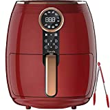 Fry Tasty Meals with Less or No Oil: With VARADA's 360 degrees rapid air frying technology, you can enjoy splatter-free cooking with up to 85% less fat or oil Easy To Use and Safe: With auto shut off and overheat protection to protect you from the mo...