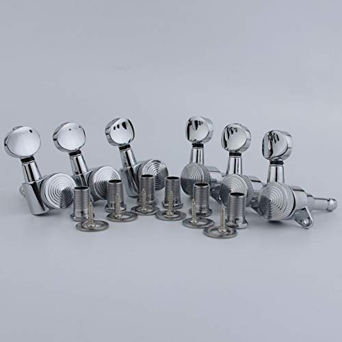 Complete Free Shipping Guitar Parts Chrome Machine Tuning Tuners price String Locking