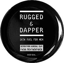RUGGED & DAPPER Detox and Acne Face Mask for Men, 5.5 Oz