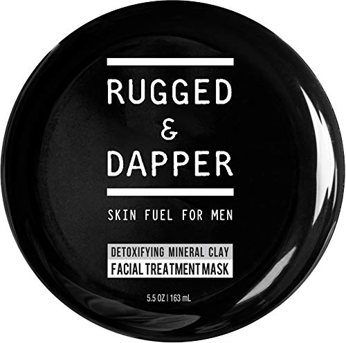 RUGGED & DAPPER Detox and Acne Face Mask