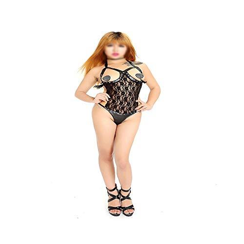 Ghy-Sensuality Costume Frauen Sexy Unterwäsche Sexy Königin Kleid Sklavin Berufsbekleidung Korsett Dessous sexy Spitze Perspektive Unterwäsche Sinnlichkeit Kostüme
