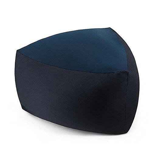 ZHEYANG Silla de lectura para sillas, sillón reclinable individual, triangular, para dormitorio, sofá (color: D)