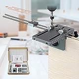 InLoveArts 6/8/10/15mm Plus Guía de Perforación Autocentrada en Madera con Precisión