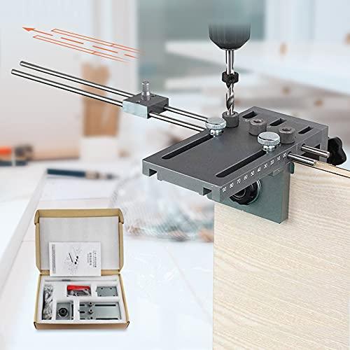 InLoveArts 6/8/10/15mm Plus Guida di Perforazione Autocentrata su Legno con Precisione