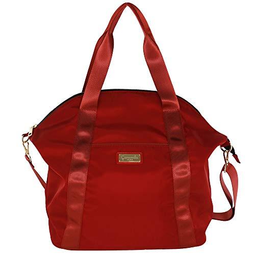 Camomilla Milano Bolso de hombro para mujer Lara color rojo con bolsillo delantero