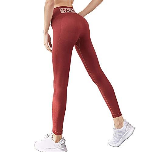 Oga Pantalones Cintura Alta Pantalones Yoga