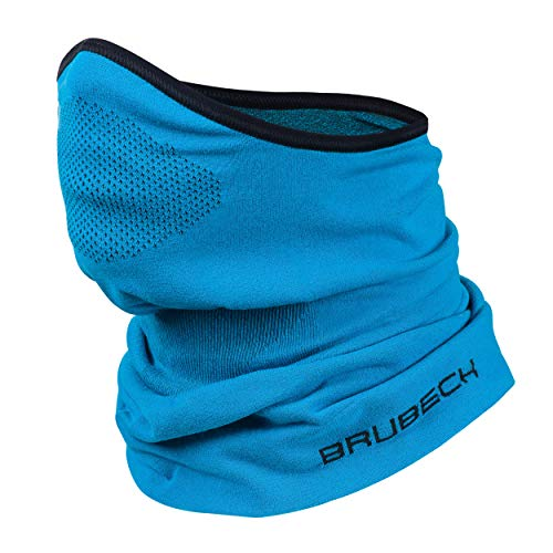 BRUBECK® X-Pro halbe klimaoaktive Gesichtsmaske Sturmhaube Sturmmaske, Größen: L/XL; Farbe: X-Pro / Blue