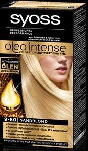 Syoss Oleo Intense 9-60 Sandblond 115ml, 3er Pack (3x115ml)