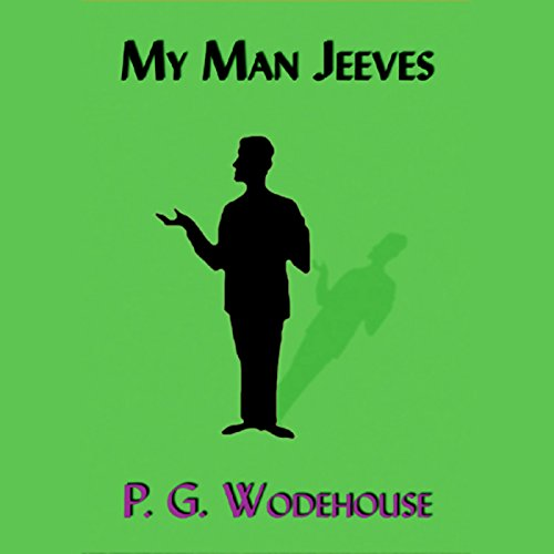 My Man Jeeves audiobook cover art