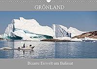 Groenland Bizarre Eiswelt um Ilulissat (Wandkalender 2022 DIN A3 quer): Die faszinierende Eiswelt des Ilulissat Eisfjord zieht den Betrachter von Anfang an in einen magischen Bann. (Monatskalender, 14 Seiten )