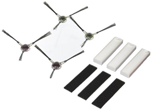 Ecovacs DA60-KTA Ersatzset für DEEBOT Slim/Slim2, Schwarz, Grau, Weiß