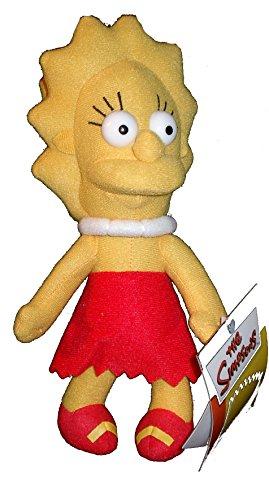 Lisa Simpson ca. 30 cm Plüsch Figur Die The Simpsons Stofftier Puppe NEU