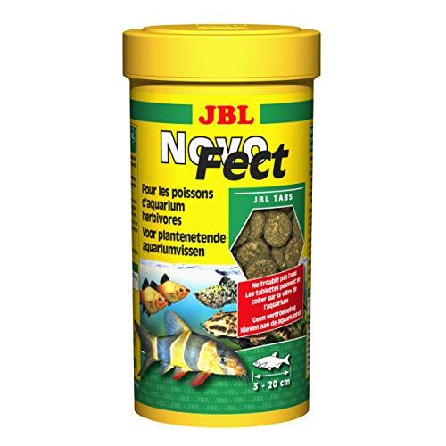 JBL Novo Fect Pack of 400Tablets for Aquarium Food 250ml–Pack of 2