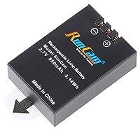RunCamバッテリー850mAh3.7Vバッテリー(RunCam 2 / RunCam 2 4K / ScopeCam Lite/ScopeCam 4K用)1* 交換バッテリ