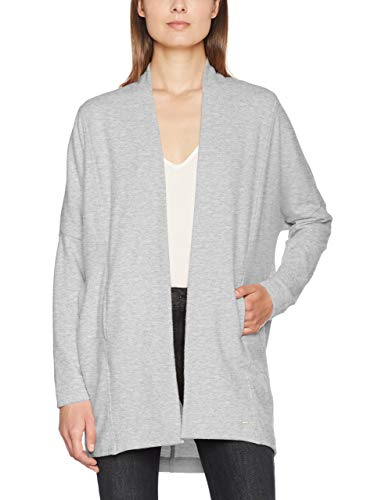 OPUS Damen Gilberta Sweatshirt, Grau (Iron Grey Melange 8057), 40