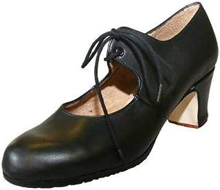 venta directa de fábrica diseñador de moda comprar Amazon.es: zapatos flamenco - Piel: Zapatos y complementos