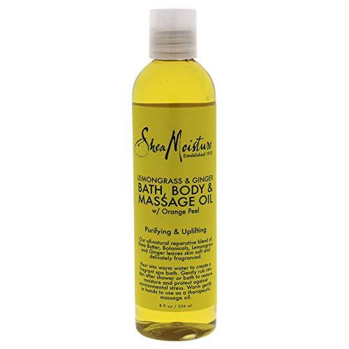 SHEA MOISTURE Lemongrass & Ginger Bath-Body & Massage Oil