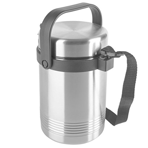 Tefal k30915 Pot 1L Acier Inoxydable 1 Pièce (S) Rangement Nourriture Récipient – Récipient pour Nourriture ( 125 mm,125 mm,240 mm,10.9 kg, 1 Pièce (S), 80 cm)