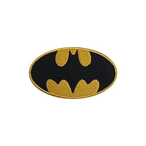 Parche bordado con el logo de Batman, fácil de coser o planchar