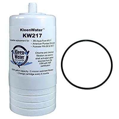 Aqua-Pure AP217 Alternative Filter with AP200 Replacement O-ring by KleenWater