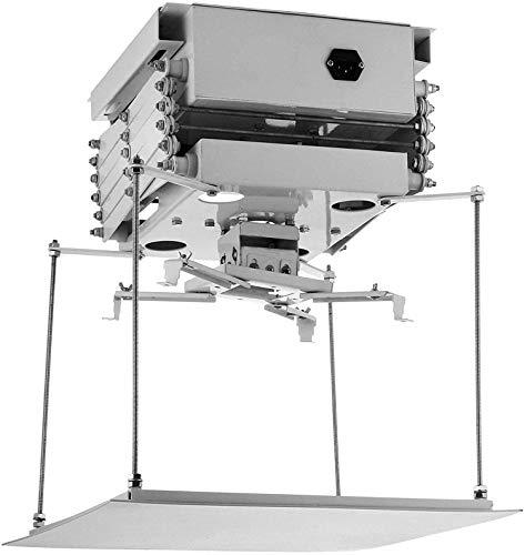 Soporte para proyector motorizado 1M Techo eléctrico Oculto Proyectores Ajustables Levante el...