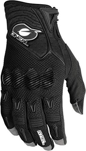 O'NEAL Butch Carbon Glove Fahrradhandschuhe, Mb, Descenso, Dh und Mx, M, Weiß Modern L Schwarz