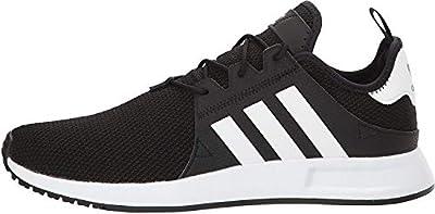 adidas Originals Men's X_PLR Running Shoe, Black/White/Black, 12 M US